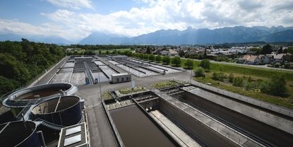 Access to relevant device information helps the wastewater treatment plant optimize its maintenance